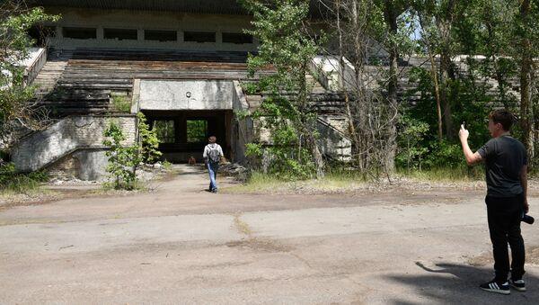 Turisté v Černobylu  - Sputnik Česká republika