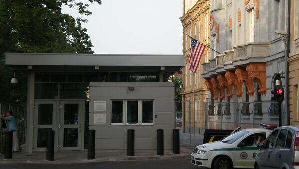Budova amerického velvyslanectví v Bratislavě   - Sputnik Česká republika