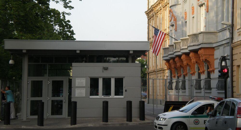 Budova amerického velvyslanectví v Bratislavě