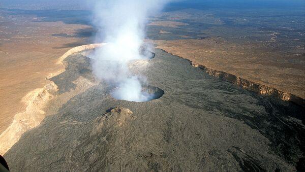 Sopka Erta Ale v severovýchodní Etiopii - Sputnik Česká republika