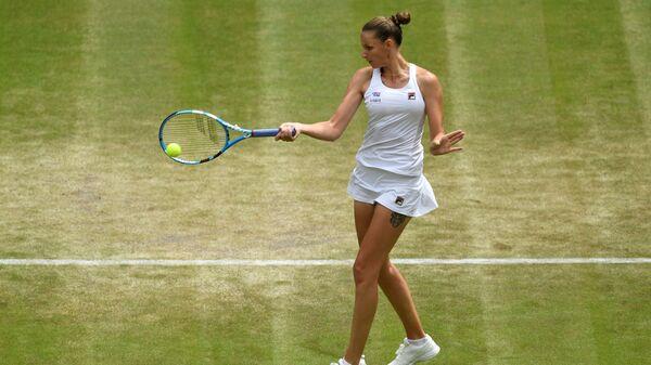 Karolína Plíšková na Wimbledonu - Sputnik Česká republika