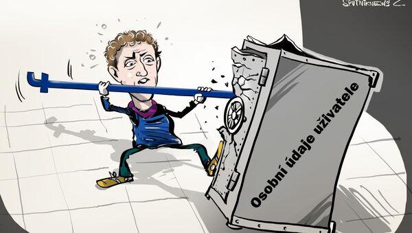 Karikatura 'Osobní'? Internet toto slovo nezná - Sputnik Česká republika