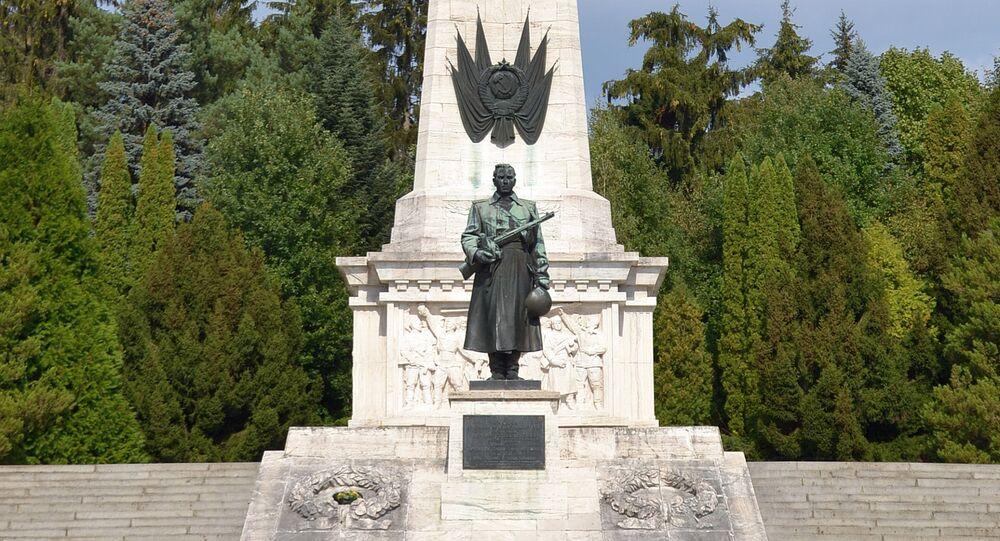 Pomník na počest Rudé armády v Svidníku