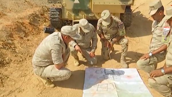 Video: Rusko a Egypt na území Káhiry raketovými komplexy střílely na drony britské a americké výroby - Sputnik Česká republika