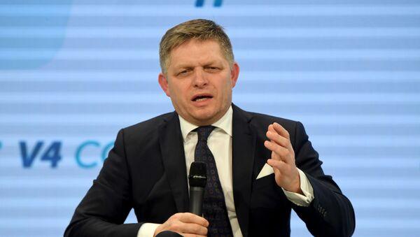 Robert Fico - Sputnik Česká republika