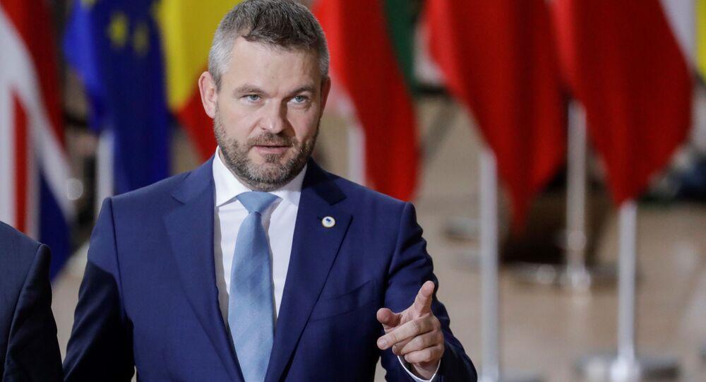 Peter Pellegrini na summitu v Bruselu
