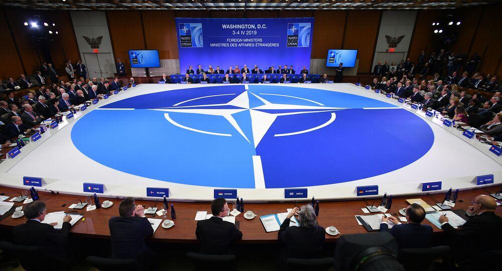 Zasedání ministrů zahraniční NATO ve Washingtonu