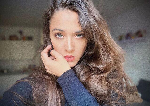 Česká herečka Eva Burešová