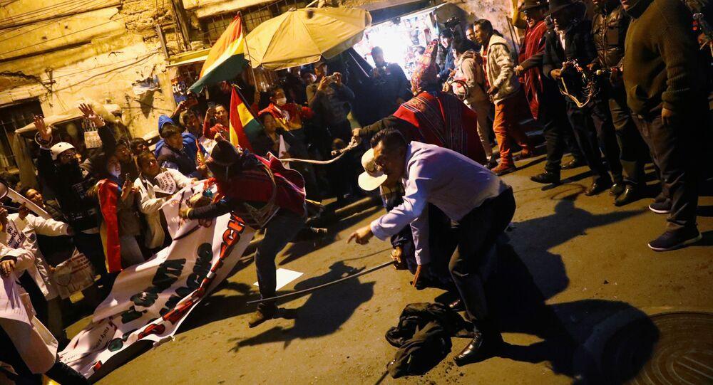 Střety mezi přívrženci Evo Moralese a jeho odpůrci, Bolívie