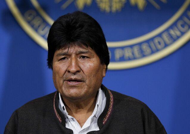Bolivijský prezident Evo Morales