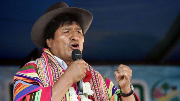 Bývalý bolivijský prezident Evo Morales - Sputnik Česká republika