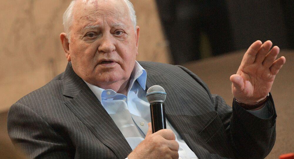 Bývalý prezident Sovětského svazu Michail Gorbačov