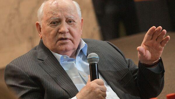 Bývalý prezident Sovětského svazu Michail Gorbačov - Sputnik Česká republika