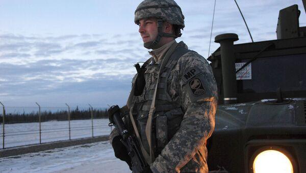 Tajemné bojové vozidlo americké armády bylo posláno na Aljašku - Sputnik Česká republika
