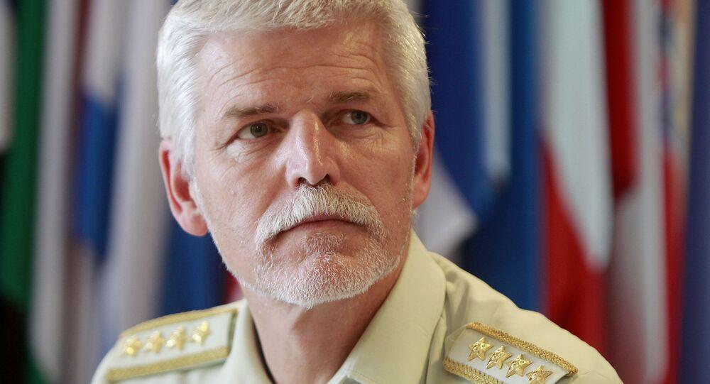 Český armádní generál Petr Pavel.