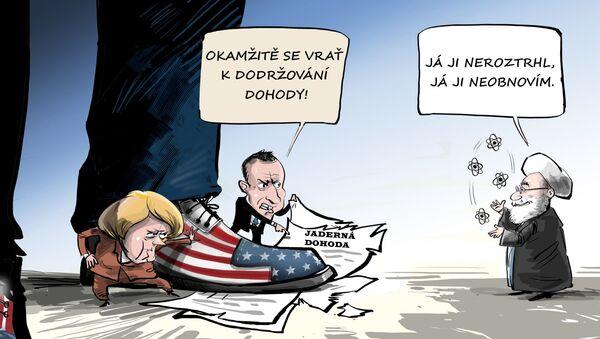 Jaderná dohoda: sami ji zničili, sami si stěžují - Sputnik Česká republika