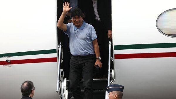 Evo Morales v Mexiku - Sputnik Česká republika