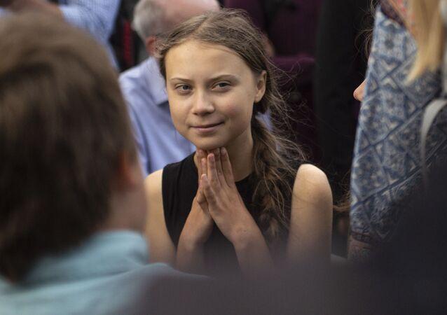 Švédská ekologická aktivistka Greta Thunbergová