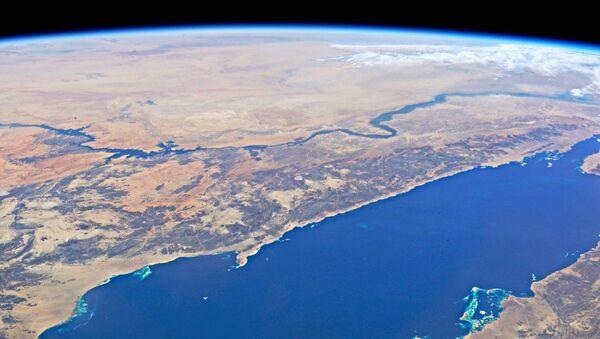 Rudé moře a řeka Nil. Pohled z ISS - Sputnik Česká republika