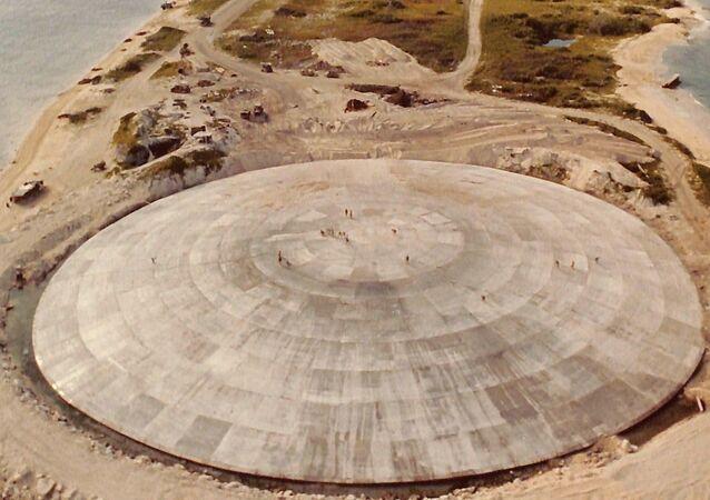 Americké jaderné pohřebiště na Marshallových ostrovech
