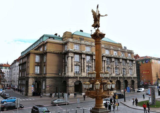 Budova Filozofické fakulty Karlovy univerzity