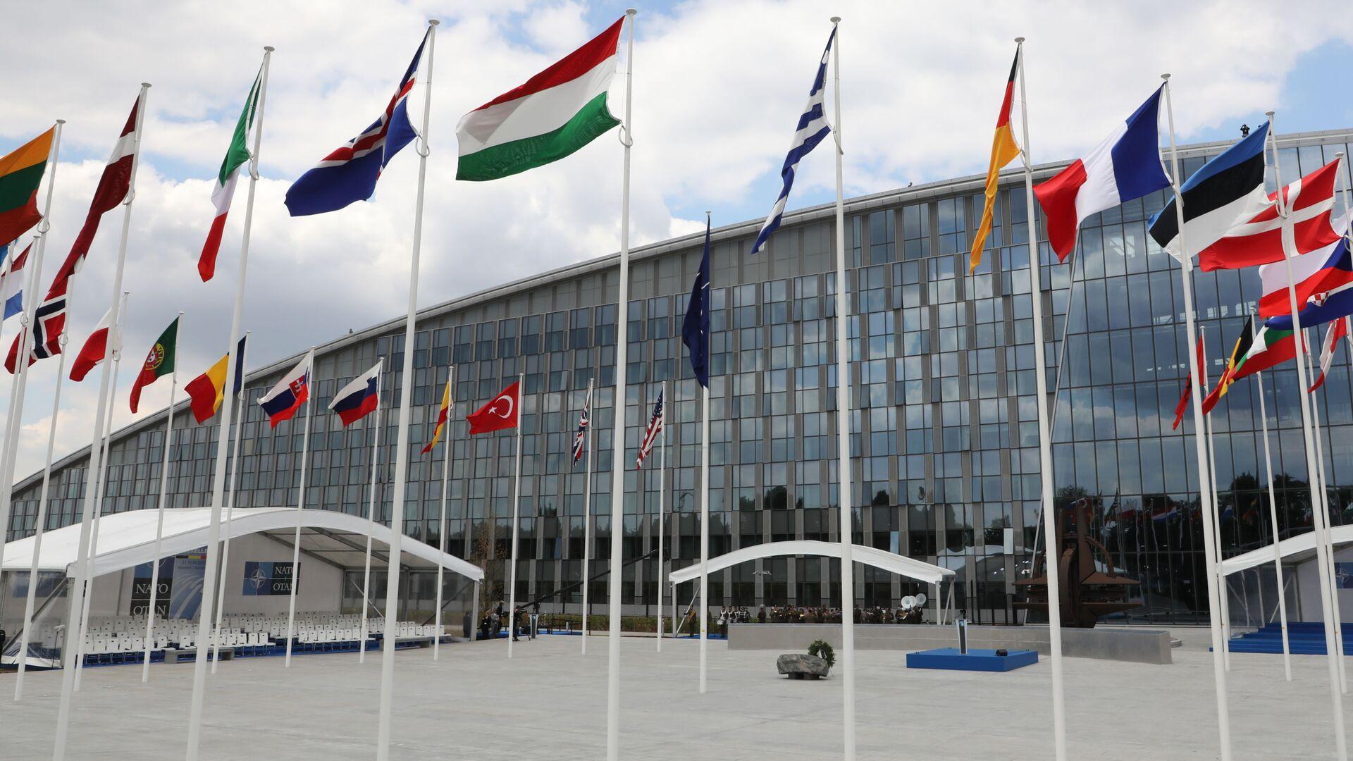 Sídlo NATO v Bruselu - Sputnik Česká republika, 1920, 22.08.2021