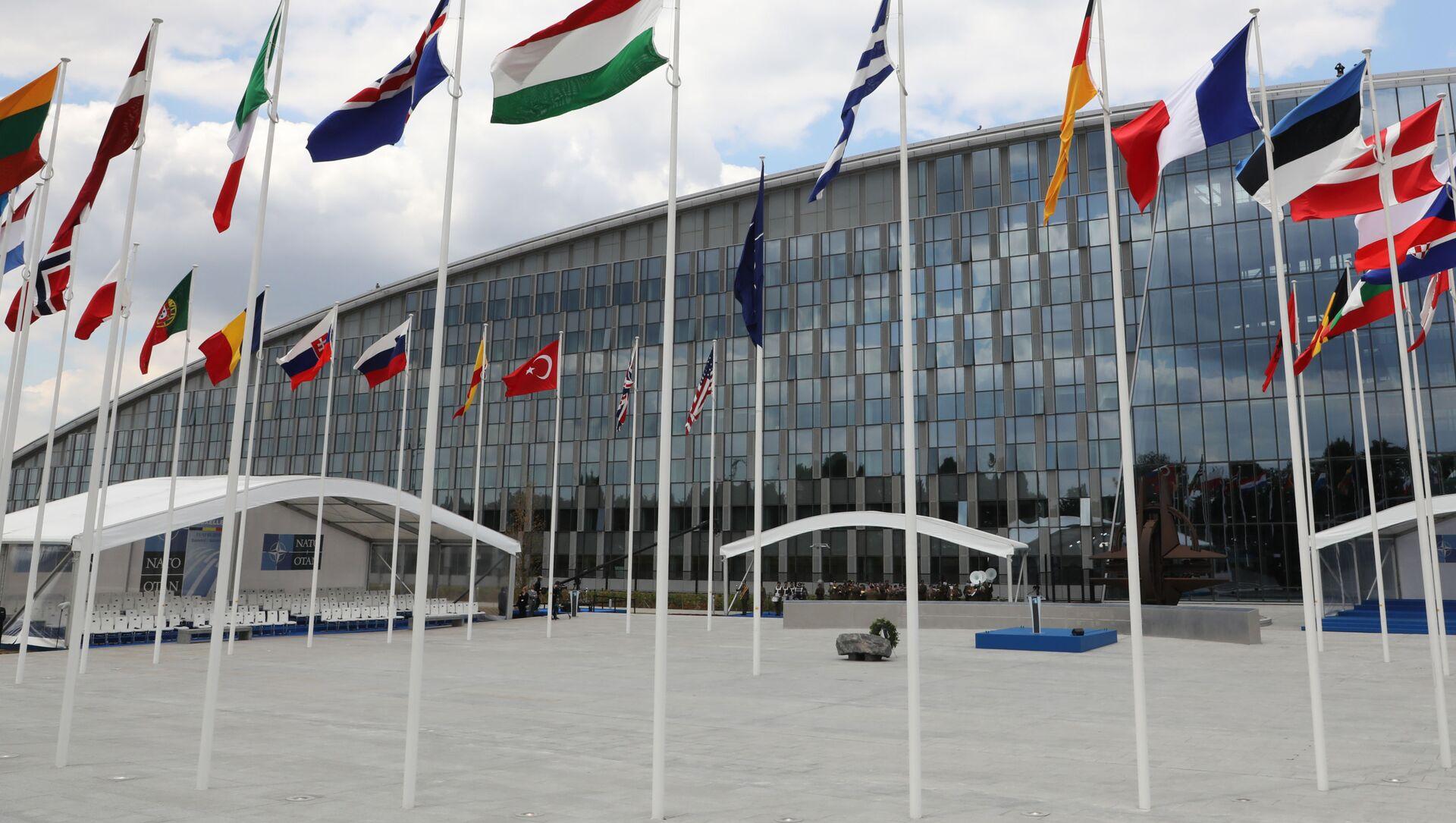 Sídlo NATO v Bruselu - Sputnik Česká republika, 1920, 28.02.2021