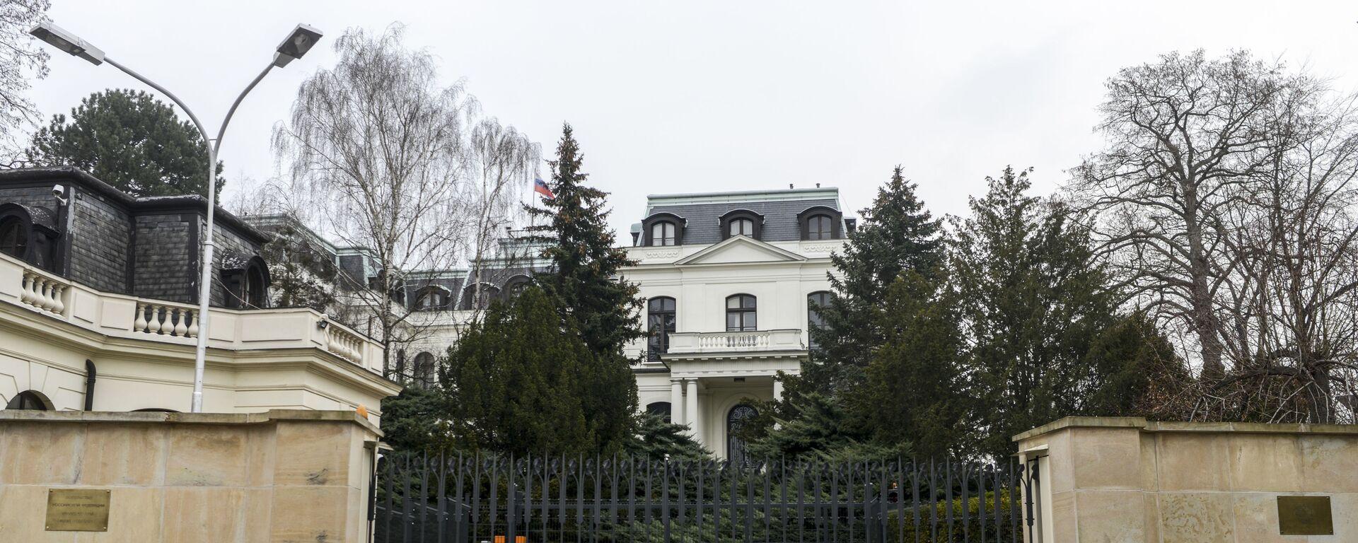 Ruské velvyslanectví v Praze - Sputnik Česká republika, 1920, 02.05.2021