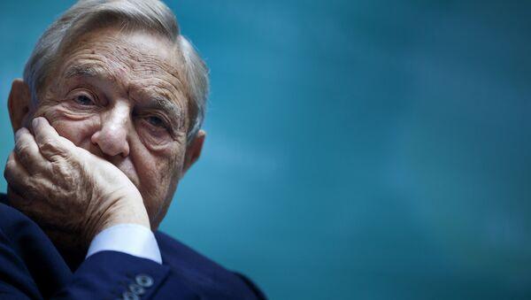 Miliardář George Soros - Sputnik Česká republika