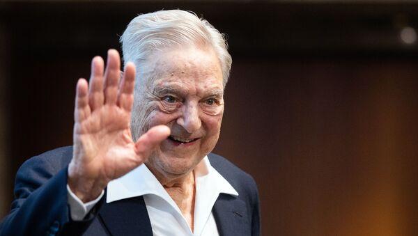 Американский инвестор и филантроп Джордж Сорос в Вене - Sputnik Česká republika