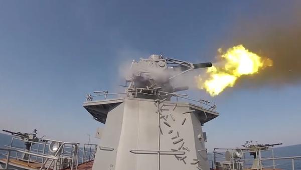 Video: Ministerstvo obrany RF nečekaně až do posledního puntíku odhalilo základy obrovské Kaspické flotily  - Sputnik Česká republika