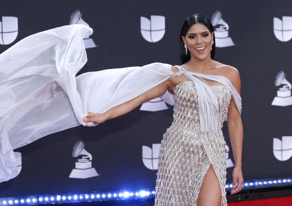 Zpěvačka Francisca Lachapelová přijíždí na 20.ceremonii Latin Grammy Awards 14.11.2019 v  Las Vegas  - Sputnik Česká republika
