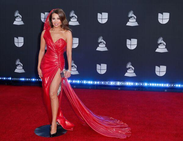 Mexická zpěvačka Thalía  - Sputnik Česká republika