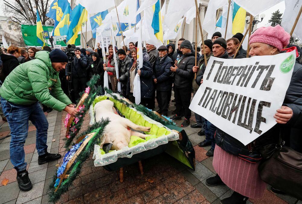 Protesty v Bolívii, Chile a na Ukrajině. Čím dalším se nám minulý týden vryl do paměti?