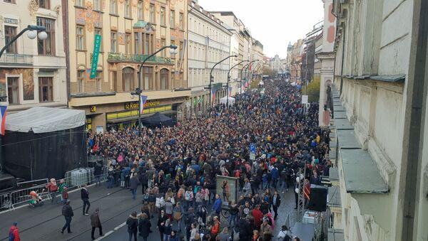 Praha 17. 11. 2019, 30 let po Sametu... - Sputnik Česká republika