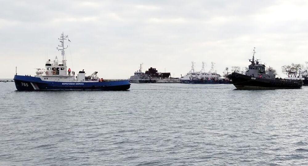 Lodě Berďansk, Nikopoľ a vlečná loď Yany Kapu