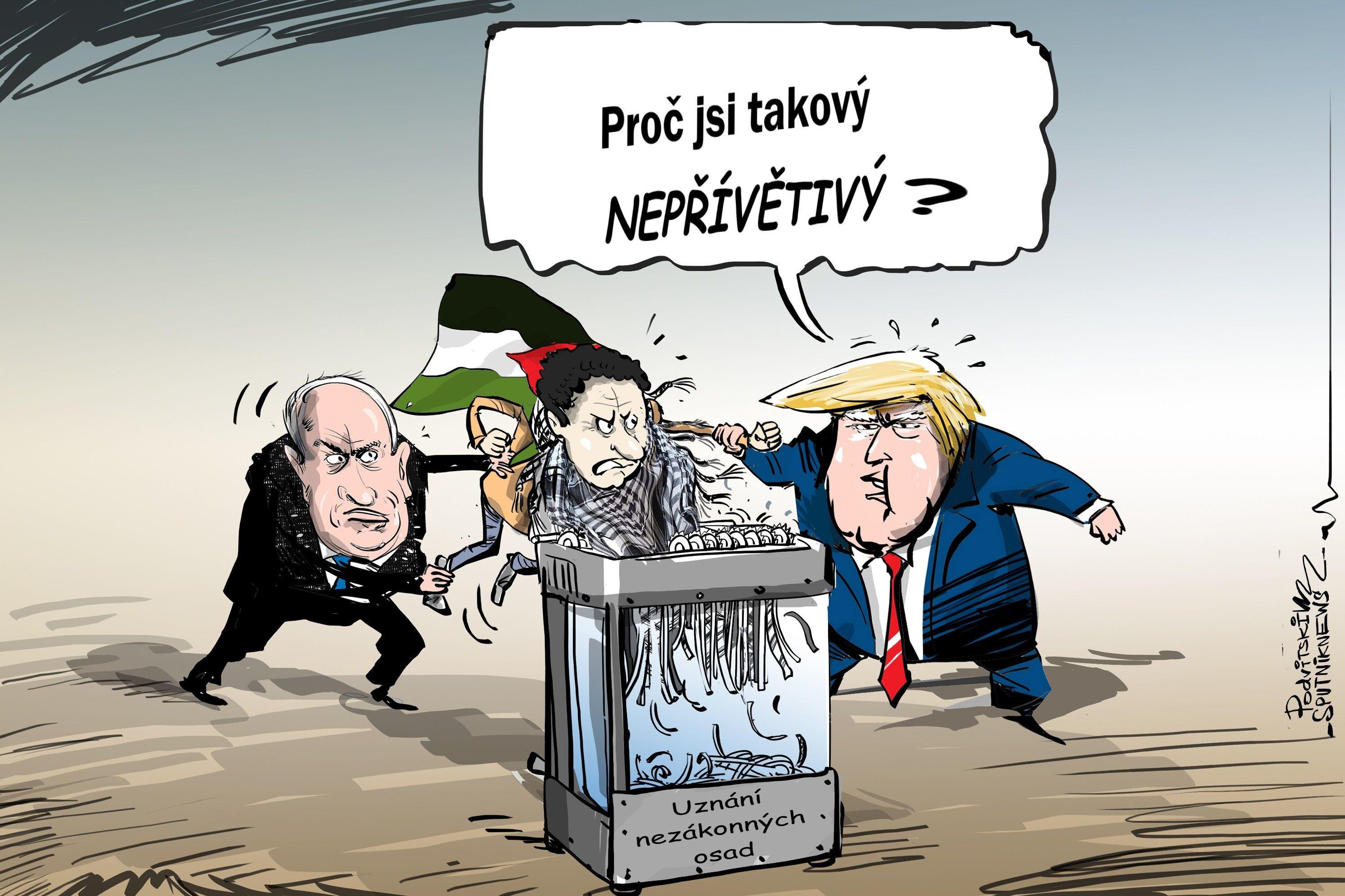 USA označily izraelské osady za legitimní