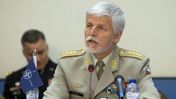 Bývalý předseda Vojenského výboru NATO generál Petr Pavel - Sputnik Česká republika