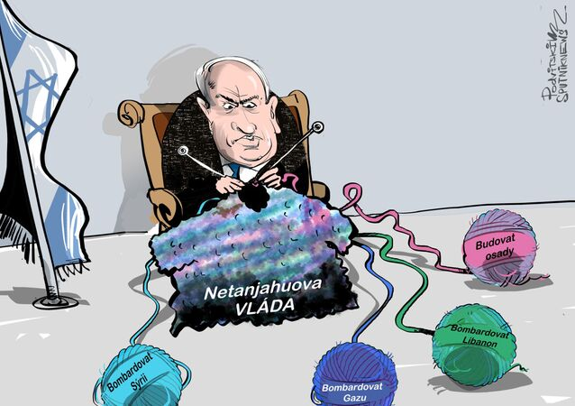 Fiktivní nepřítel Izraele