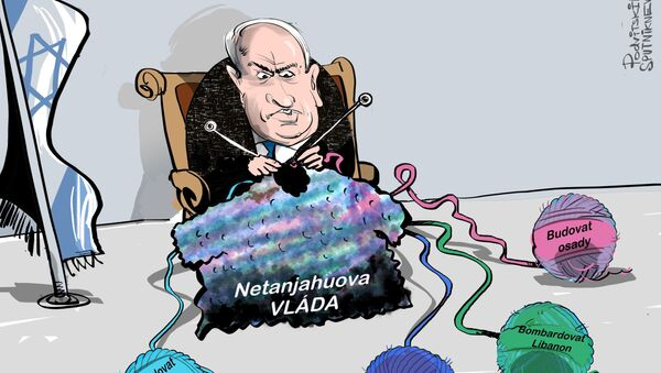Fiktivní nepřítel Izraele - Sputnik Česká republika