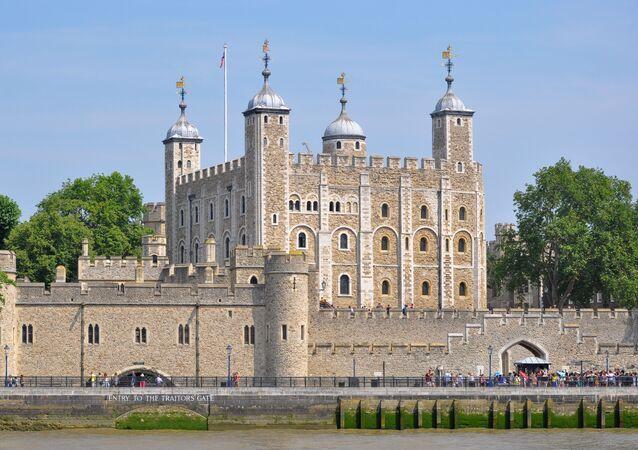 Londýnský Tower. Ilustrační foto