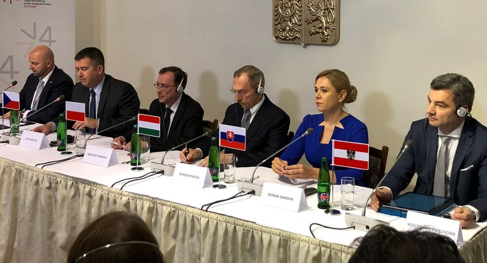 Setkání ministrů vnitra zemí V4, Praha