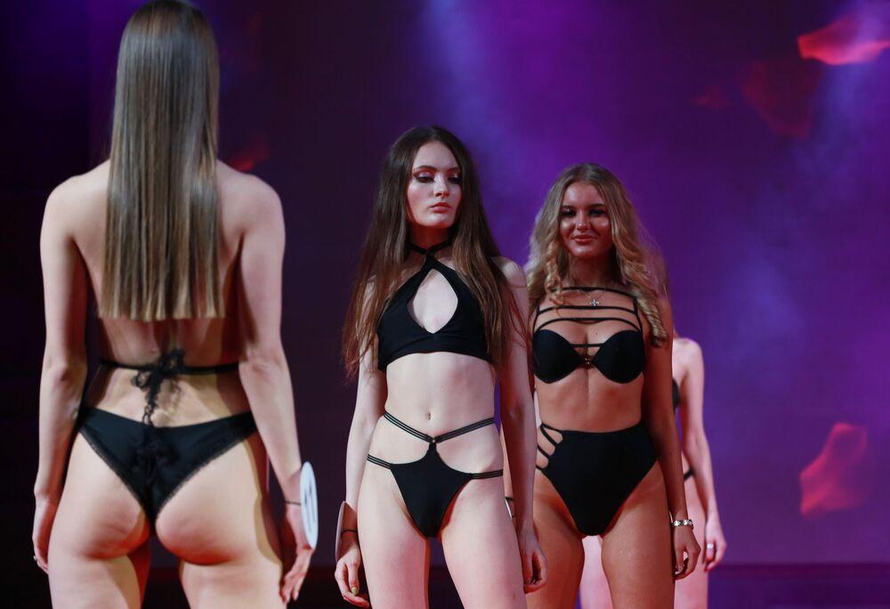 Účastnice finále soutěží krásy Ruská krása 2019, Top Model Ruska 2019 a Top Model PLUS 2019