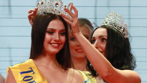 Polina Ivanovová – vítězka soutěže Top Model Ruska 2019  - Sputnik Česká republika