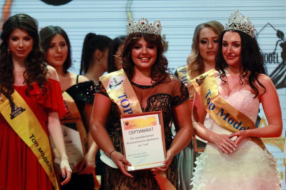 Vítězka soutěže krásy Top Model PLUS 2019