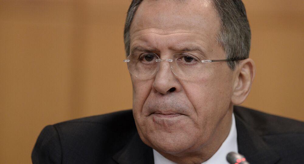 Ministr zahraničních věcí Ruské federace Sergej Lavrov