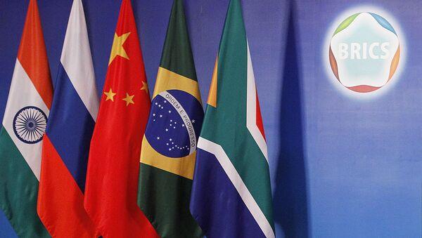 Vlajky BRICS - Sputnik Česká republika