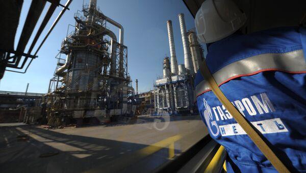 Ropná rafinerie Gazprom - Sputnik Česká republika