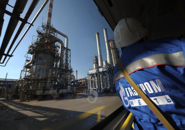 Ropná rafinerie Gazprom