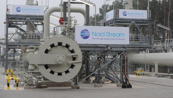 Plynovod Severní proud - Sputnik Česká republika